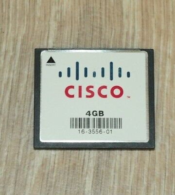 Cisco MEM-CF-4GB Compact Flash Memory for 2900 2901 2911 2921 2951 1 YEAR Wty