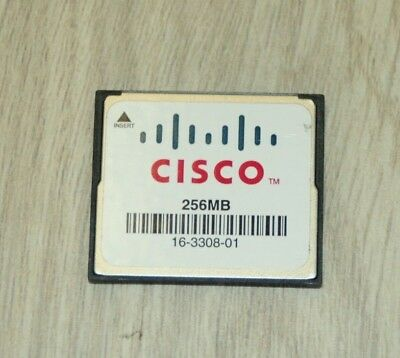 Cisco MEM-CF-256MB Compact Flash Memory for Cisco 1900 1921 1941 1 YEAR Wty