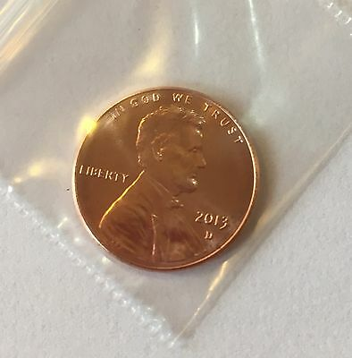 2013 D Lincoln Shield Cent / Penny  **FREE SHIPPING**