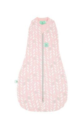 ErgoPouch Cocoon Swaddle Sleep Bag 0.2tg - 2 SIZES - NEW SEASON - SPRING LEAVES