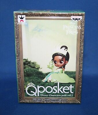 Q Posket Disney Characters Petit Vol.1 The Princess and The Frog Tiana Figure