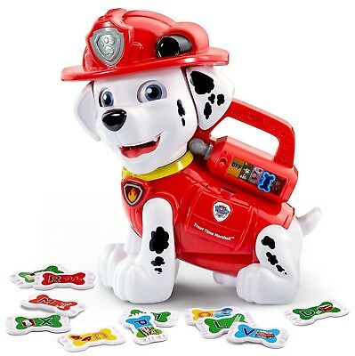 VTech - VTech Paw Patrol Treat Time Marshall - Talking Toy - Alphabet Feed Me