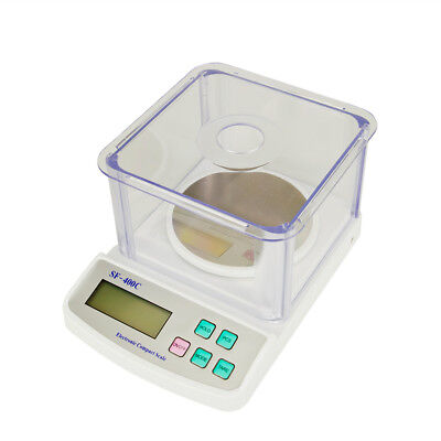 LCD Lab Analytical Balance Digital Precision Scale 500g x 0.01g SF-400C