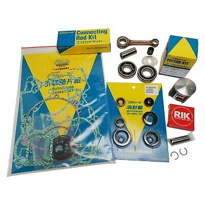 KTM SX 125 2007-2010 Engine Rebuild Kit Con Rod Mains Piston Gaskets Seals