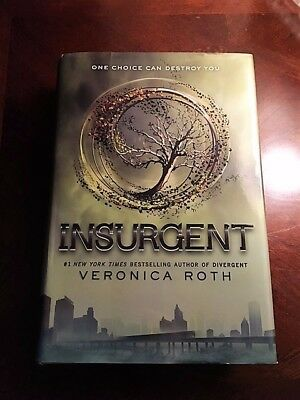 Divergent signed by veronica roth hardcover 2011 1595 picclick divergent series insurgent by veronica roth 2012 hardcover fandeluxe Image collections