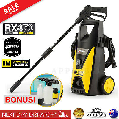 High Pressure Washer Water Cleaner W/ Hose Lance For Car Vari Nozzle 3100PSI