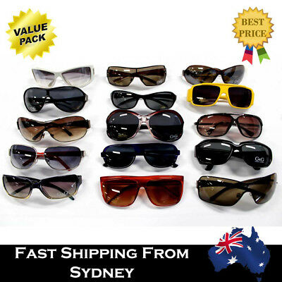 100 Pairs Mens Womens Ladies Kids Mixed Clearance Sunglasses Wholesale Bulk Lots