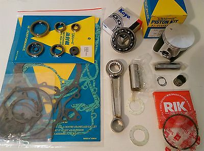 Suzuki RM250 1998 Engine Rebuild Kit Con Rod Mains Piston Gaskets Seals