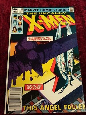 Uncanny X-Men #169 (Marvel, 1983) 1st Appearance of Callisto and the Morlocks
