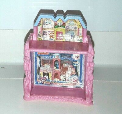 Loving Family toy mini doll House dollhouse accessory Fisher Price Sweet Streets