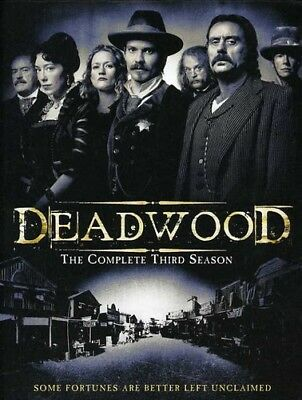 Deadwood: The Complete Third Season [6 Discs]  WS (DVD Used Like New) WS