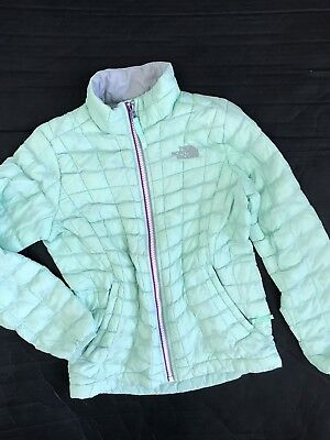 The North Face Primaloft Thermoball Girl Winter Lightweight Jacket S 7-8