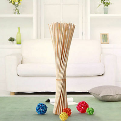 30/100x Premium Rattan Reed Fragrance Oil Diffuser Replacement Refill Reed Stick