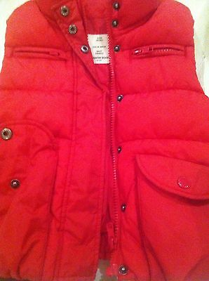 Country Road Red Puffer Vest Boy Or Girl Size 2