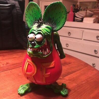 """Ed Roth collectible rat  statue 12"""" tall  very detailed and limited"""