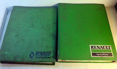 Renault Tractor Repair Shop Manual: MR151, Axle, Clutch, Gear Box, Brakes (6241)