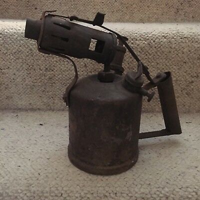 Antique Brass Blowtorch Rustic Collectible Antique Collectible Decor