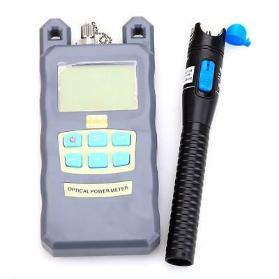 2 In1 FTTH Fiber Optic Tool Kit Optical Power Meter 1mW 5KM Visual Fault Locator