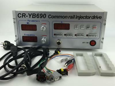 Common Rail Injector Tester CR-YB690 Test for BOSCH/DENSO/DELPHI injectors
