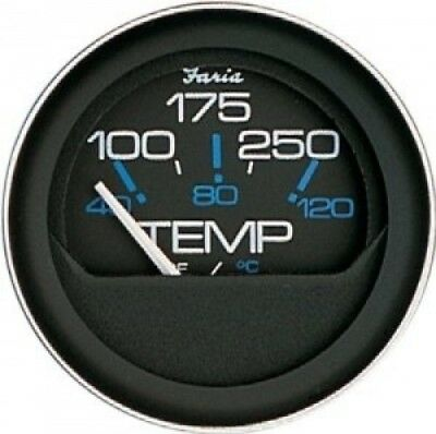 Faria 13009 Coral 60-200°F Water Temp Gauge. Shipping is Free