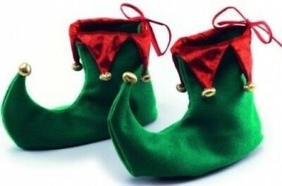 (One Size, One Size) - Deluxe Christmas Pointed Elf Shoes. Bristol Novelty