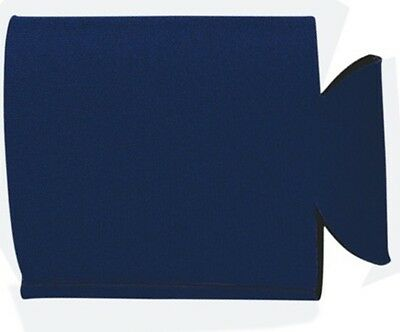 25 NAVY BLUE Collapsable Can Coozie Blank Lot NEW Screen print Birthday