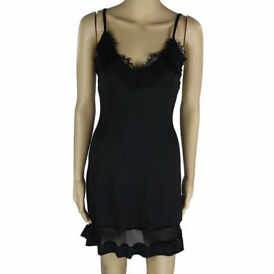 New Women Stylish Brief Black Patchwork Hollow Out Pleated Dress