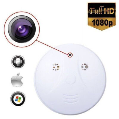 HD DVR SPY Hidden Camera Smoke Detector Motion Detection Video Recorder Cam