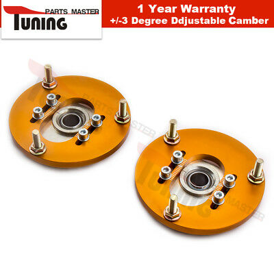 Adjustable Camber Plates for BMW E46 3 Series Top Mount Suspension Plate AMI