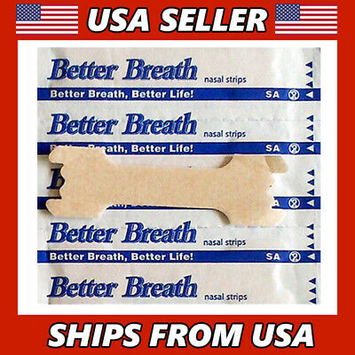 2-1000 Nasal Strips Breathe Better Reduce Stop Snoring Sleep Apnea Right Now