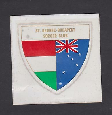 St George Budapest Soccer Club Sticker