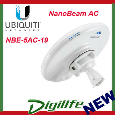 Ubiquiti NBE-5AC-19 NanoBeam 5GHz 19dBi High-Performance airMAX Bridge