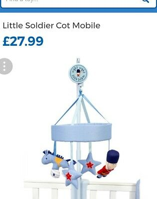 toys r us soldier cot mobile