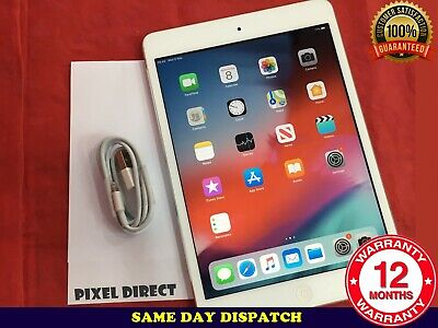 MINT Apple iPad mini 2 16GB Wi-Fi 7.9in Silver Retina Display iOS 12 - Ref 160