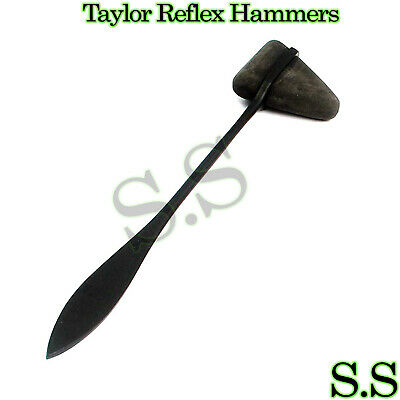 Black Taylor Percussion (Reflex) Hammers - Medical Surgical Instruments