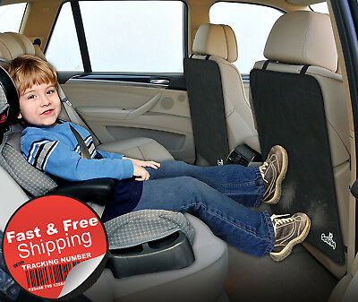 Back Seat Protector Car Seat Kick Mat SUV Cushion Cover Set Auto Care Cleaning 2