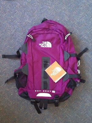 Bnwt The North Face Hot Shot Backpack Purple & Black