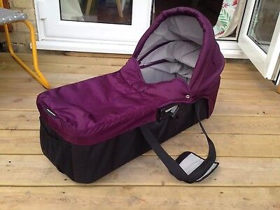 Baby Jogger City Mini compact carrycot (purple)