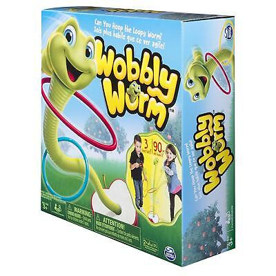 Spinmaster Wobbly Worm Game For 2 or 3 players ages 3+