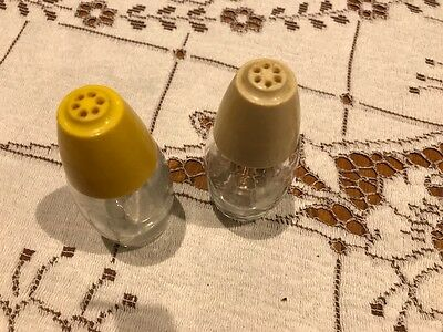 Vintage Salt & Pepper Shakers - Crown Corning