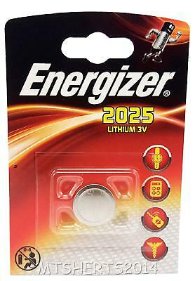 Energizer 2025 CR2025 3v Lithium Coin Cell Battery Batteries  NX10