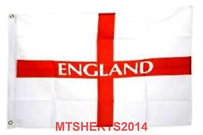 England Flag 5FT x 3FT St Georges Cross Football Rugby English Flags HX10