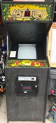 Lost Tomb Arcade Video Game - Working - RARE!