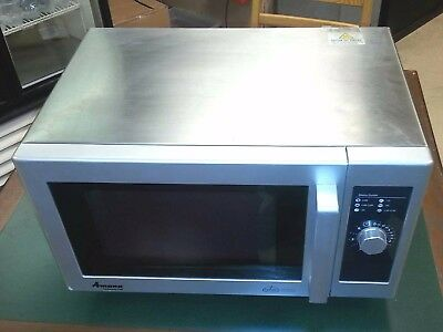 Amana RMS10D commercial microwave oven - Tested good