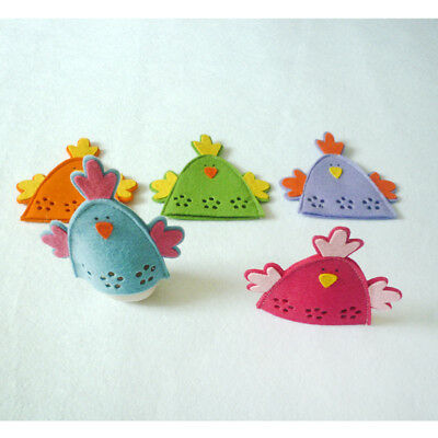 4pcs Cute Chick Easter Egg Covers Wrap Holder Decoration Ornament Gifts