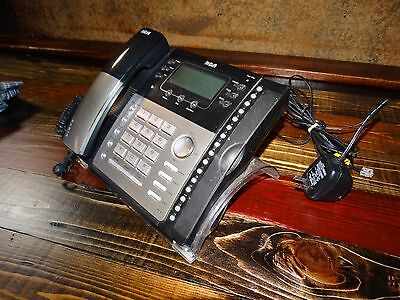 G205 Rca ViSYS 25424RE1 Four-Line Office Telephone Office Model RCA25424RE1-a