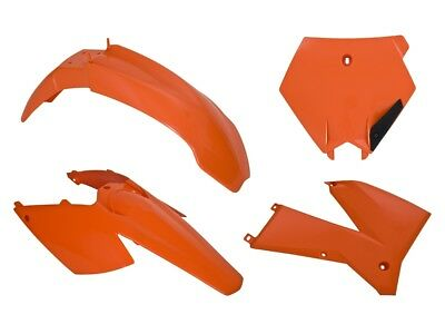 RTECH Plastik Kit orange passend für KTM EXC 450 Racing Bj. 04-07