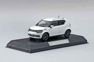 NEW Genuine Suzuki IGNIS 2016 DIECAST Metal Model Car White 1:43 99000-79N12-GNL