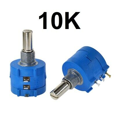 10K Ohm Rotary Potentiometer Pot 10 Variable Resistor