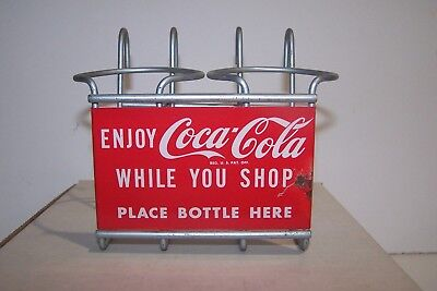 Coca Cola Shopping Cart Bottle Carrier